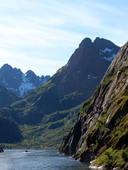 Entering the Trollfjord on a Tourist Ship (5) (Phil Masters) Tags: 21stjuly july2016 norwayholiday norway raftsund raftsundet thetrollfjord trollfjorden trollfjord