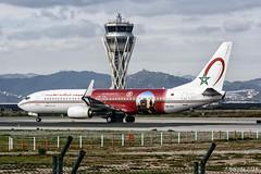 Royal Air Maroc - Boeing 737 800 - CN-RGI (j.borras) Tags: airplane spotting barcelona bcn lebl takeoff departing rwy25l boeing 737 800 royal air maroc cnrgi