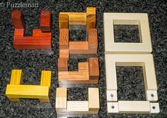 Burr Noose Pieces (kevinmsadler) Tags: interlocking puzzle