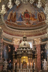Santa Maria della Scala, Trastevere, Rome (rjhuttondfw) Tags: santamariadellascalatrastevere caravaggio deathofthevirgin