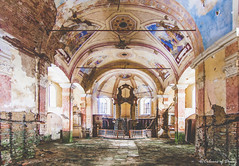 Church of Colours. (C O L O U R S O F D E C A Y) Tags: abandoned abandonedplace urbex czech church colours colors forgotten lost decay decaying decayed