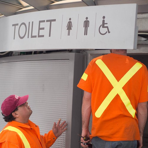 Dirty Business    #vancouver #robson #streetphotography #canada #toilet #dirty #public