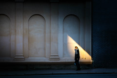 (Svein Nordrum) Tags: oslo candid street streetphotography light dark contrast architecture woman explore