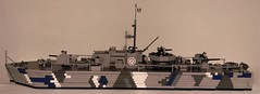 Fairmile D Class Redemption (Babalas Shipyards) Tags: lego navy british military boat ship gunboat mgb mtb fairmile