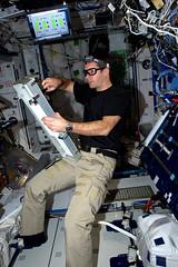 Man vs. Machine (Thomas Pesquet) Tags: thomaspesquet iss machine technology microgravity space