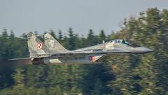 MiG-29M (kamil_olszowy) Tags: mig29m low pass fighter fulcrum polish air force 912a 108 epks pozna krzesiny