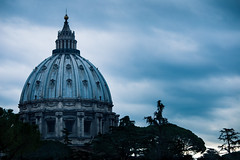 Dome of St Peter's Basilica (colin|whittaker) Tags: rome stpetersbasilica italy travel vatican dome architecture