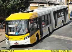 3 3465 - V.I.P. unidade Imperador (Emerson F.C.®) Tags: bus mercedesbenz vip ônibus articulated brs articulado o500ua induscar consórcioplus