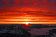 ..am Großglockner 3798m; Top of Austria (ernst.weberhofer) Tags: sunrise sonnenaufgang kals hochalmspitze grosglockner lucknerhaus
