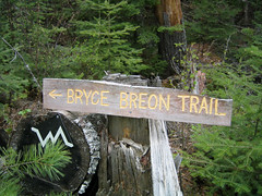 Bryce Breon Trail sign