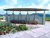 Beach Shelter benches - Aberavon Seafront