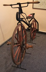 Invented by Heinrich Mylius (:Linda:) Tags: bike bicycle museum germany town handmade thuringia themar tretkurbelrad