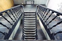 Bang Rak Fire Station (m-louis) Tags: architecture stairs thailand bangkok interior explorer lookdown j3 100faves nikon1 bangrakfirestation bkk2013