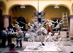 """Cervantino """"El Quijote"""" en el Museo Iconográfico (El Volador S.A.) Tags: mexico quijote posada ofrendas volador cartoneria elvolador"""