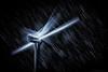 Falling Stars (Silent G Photography) Tags: california longexposure nightphotography windmill monochrome stars adobe astrophotography nik nikkor windfarm startrails reallyrightstuff rrs startrail 2013 nikond800 bh55lr markgvazdinskas silentgphotography tvc33 silentgphoto