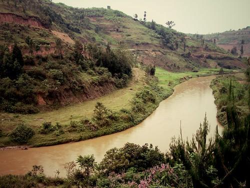 Fleuve Nyabarongo - Rwanda