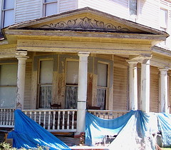 Roman Temple or Queen Anne Victorian? (vintrest) Tags: anne george grove queen honey barber