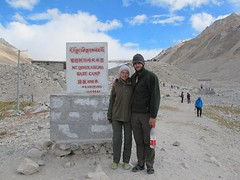 """Made it to Everest base camp! • <a style=""""font-size:0.8em;"""" href=""""http://www.flickr.com/photos/95544223@N05/9974419216/"""" target=""""_blank"""">View on Flickr</a>"""