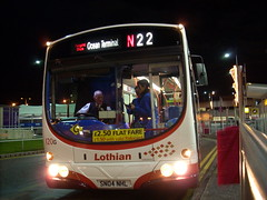 Lothian Buses' 120 at Edinburgh Airport (43002) Tags: ocean bridge buses station tv bash airport scenery edinburgh brighton dundee board south scottish first running scotrail terminal 66 class east tay crosscountry highland aberdeen perth 314 mk2 37 standard 90 aviemore croydon 67 170 inverness gatwick pis semaphore 43 lothian mega pitlochry tgs stonehaven 156 220 gner kingussie hst dalwhinnie mk3 clayhills