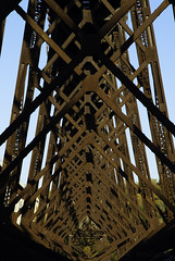 Trestle Perspective (FSHMNKY) Tags: railroad trestle bridge autumn landscape nikon rust unitedstates perspective iowa unionpacific boone ogden repeating uprr 2013 d80 kateshelley