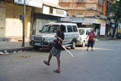 6 Hitting (leoherbert) Tags: street leica travel india travelling kids children leo indian sub cricket mumbai herbert continent m9