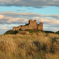 Evening Glow (Dave Snowdon (Wipeout Dave)) Tags: heritage history landscape coast northumberland bamburgh djs eveningglow bamburghcastle wipeoutdave canoneos1100d djs2013 davidsnowdonphotography