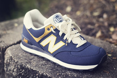 """574 """"Rugby Pack"""" (lensivew) Tags: blue brick yellow 50mm nc nikon rugby navy raleigh nb pack nikkor 18 cary bokah d3100 newbalacnce nc35mm"""
