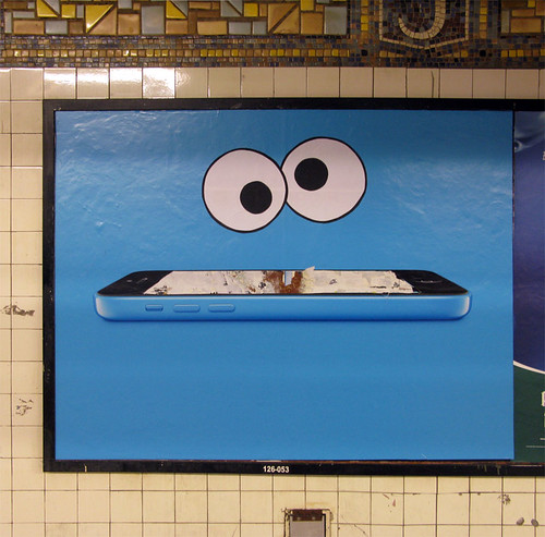 Cookie Monster's eyePhone