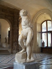 The Rebellious Slave (rjhuttondfw) Tags: louvre michelangelo rebelliousslave