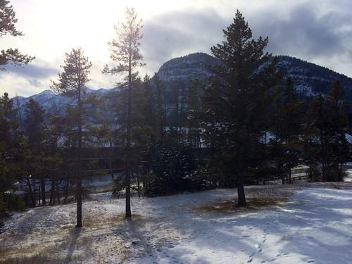 Banff, Sonne, Schnee <3