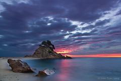 Cala Cap Roig (Joan Trias) Tags: mar catalonia catalunya costabrava paisatge empordà baixempordà sortidadesol llargaexposició