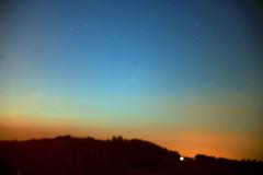 ... i giorni si confondono e si cancellano... (UBU ♛) Tags: blues 30sec blunotte blureale ©ubu unamusicaintesta landscapeinblues bluubu luciombreepiccolicristalli