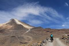 Climbing to Uturuncu
