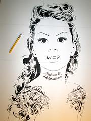 NEW Stencils 1/6 layer (mittenimwald) Tags: tattoo studio stencil koi layer burlesque cutter olva mittenimwald