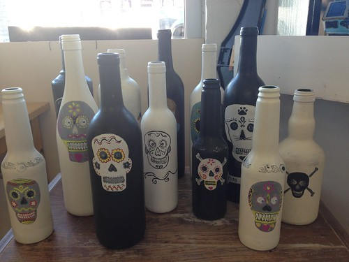 DAY OF THE DEAD BOTTLES