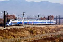 TGV Duplex Dasye 734 (Escursso) Tags: barcelona paris france train tren spain lyon frança ave esp tgv sncf riu mollet besòs molletdelvallès