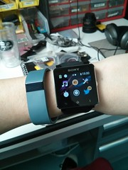 fitbit and sony smart watch