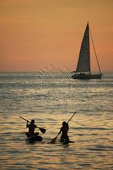 Stand up paddle (adelaidephotos) Tags: sunset sea summer brazil praia beach rio brasil riodejaneiro mar dusk pôrdosol verão sup paddlesurf arpoador entardecer standuppaddle mariaadelaidesilva