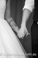 Amy and Matt (Kirsten Goebel of Pine Tree Productions) Tags: family wedding white love beautiful smile ink groom bride holding hands dress harbour gorgeous joy sydney marriage happiness celebration pyrmont bridal