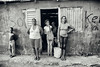 Different Streets (Giovanni Savino Photography) Tags: street people blackandwhite outside waiting dominicanrepublic group streetphotography streetphoto inside interestingpeople 5people magneticart ©giovannisavino