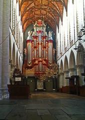 Grote of St. Bavokerk Haarlem.
