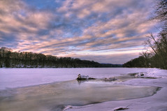 If I Had Known Yesterday (Crick3) Tags: winter sunset ice nh frozenover connecticutriver wchesterfield