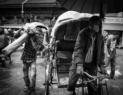 Kathmandu (Byron James Bignell) Tags: nepal people work commerce market labour kathmandu bazaar byron trade byronjamesbignell