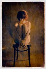 Nude on chair (guysamsonphoto) Tags: portrait digitalpainting studioartist peinturenumérique fabuleuse peintugraphie guysamson estampenumérique phototurnedintopainting