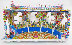 LEGO Movie Coliseum (Imagine) Tags: lego pastel coliseum minifig minifigs moc emmet wyldstyle legomovie imaginerigney