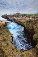 THE EMOTION BENEATH,,,, (ManButur PHOTOGRAPHY) Tags: morning blue bali nature water rock canon photography exposure waterfront explorer wave explore nusadua waterscape eastasia gnd waterblow canon7d manbutur manbuturphotography vision:mountain=0841 vision:sky=0637 vision:outdoor=0955