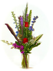"""#21V Mixed Garden vase $65 & up • <a style=""""font-size:0.8em;"""" href=""""http://www.flickr.com/photos/39372067@N08/12228392696/"""" target=""""_blank"""">View on Flickr</a>"""