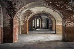 San Francisco,CA, Fort Point Arches,  2014 (Barking Dog Photos_Bruce Gregory) Tags: sf fortpoint ftpoint