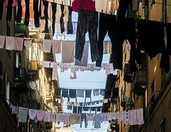 Upstairs (_Massimo_) Tags: italy italia liguria genoa genova laundry clothesline bucato pannistesi panni massimostrazzeri ziomamo getty022814