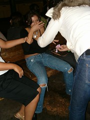 puke91 (Jeansluder) Tags: girls party sexy fall pee wet girl drunk wasted boot boots partying jeans bitch heels tight passedout puke demin stagger partygirlsbitch wastedpassedout